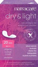 Natracare Inkontinenzbinde Dry & Light Slim 20...