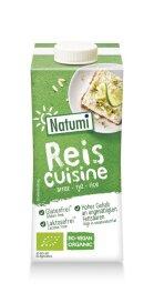 Natumi Reis Cuisine 8% Fett 200ml Bio