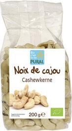 Pural Bio Cashewkerne 200g