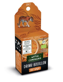 Natur Compagnie Drink Bouillon Hot Ginger 50g Bio