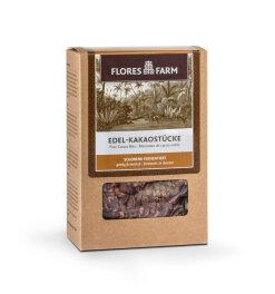 Flores Farm Edel-Kakaostücke 100g
