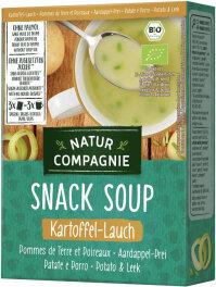 Natur Compagnie Fixe Tasse Instant-Suppe Kartoffel-Lauch...