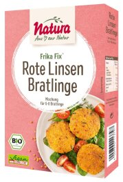Natura Frika Fix Bio Rote Linsen-Bratlinge 150g