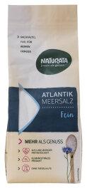 Naturata Atlantik-Meersalz, fein 500g