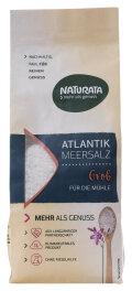 Naturata Atlantik-Meersalz, grob, für Mühle 500g