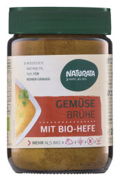 Naturata Gemüsebrühe Bio-Hefe Glas 200g