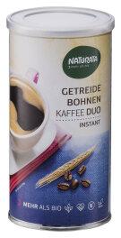 Naturata DUO Getreide-Bohnenkaffee, Instant 100g Bio