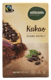 Naturata Bio Kakao stark entölt 125g