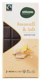 Naturata Chocolat Caramel-Sel Fairtrade Bio 100g