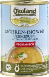 Ökoland Möhren-Ingwer Cremesuppe 400g
