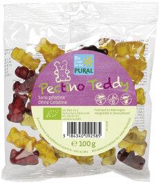 Pural Pectino Teddy Fruchtgummi ohne Gelatine Bio 100g