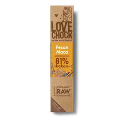 Lovechock Raw Chocolate Pecan & Maca 40g