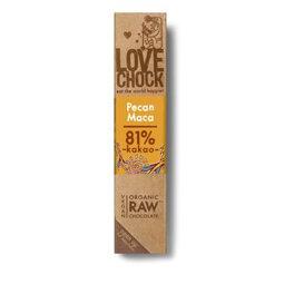 Lovechock Raw Chocolate Pecan & Maca 40g