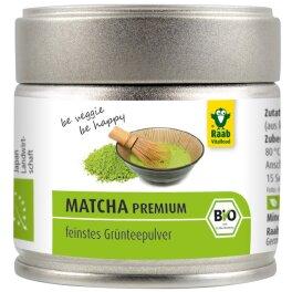Raab Vitalfood Bio Matcha Grünteepulver 30g