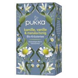 Pukka Kamille/Vanille Manuka Honig Tee 0,07kg