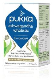 Pukka Ashwagandha Wholistic 30 Kapseln Bio