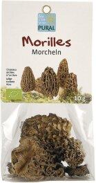 Pural Morcheln, getrocknet 10g Bio