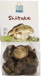 Pural Shiitake, getrocknet 20g Bio