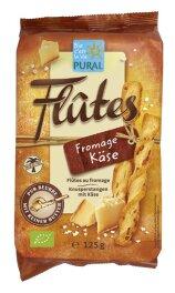Pural Flûtes mit Käse 125g Bio