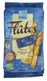 Pural Flûtes mit Salz 125g Bio