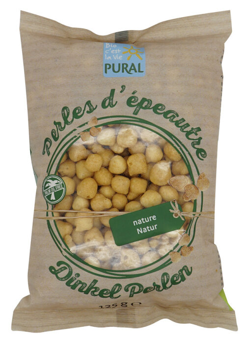 Pural Dinkel-Backerbsen 125g Bio