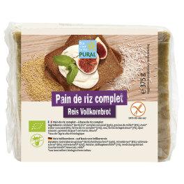Pural Vollkorn-Reisbrot 375g Bio