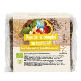 Pural Vollkorn-Reisbrot mit Sonnenblumenkernen 375g Bio