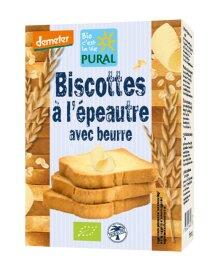 Pural Demeter Dinkel Butter Zwieback 200g Bio