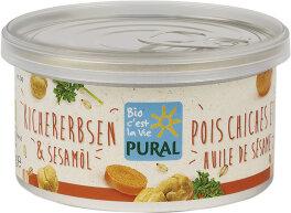 Pural Pflanzlicher Aufstrich Kichererbsen &...