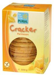 Pural Cracker Parmesan 100g Bio