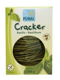 Pural Cracker Basilikum 100g Bio
