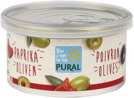 Pural Bio Paprika Olive Aufstrich 125g