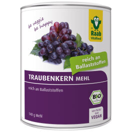 Raab Vitalfood Traubenkernmehl 140g