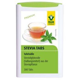 Raab Vitalfood Stevia Tabs 18g