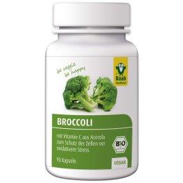 Raab Vitalfood BIO Broccoli Kapseln 45g