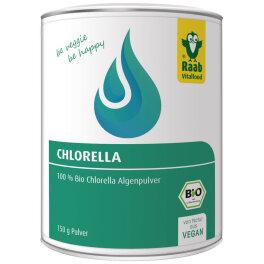 Raab Vitalfood Bio Chlorella Pulver 150g