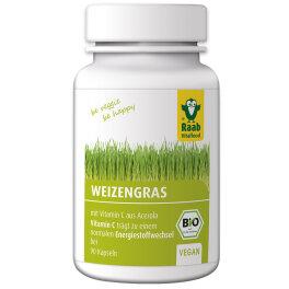 Raab Vitalfood BIO Weizengras Kapseln 27g
