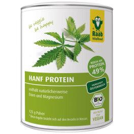 Raab Vitalfood Hanf Protein Pulver 125g