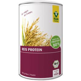 Raab Vitalfood Bio Reis Protein Pulver 400g
