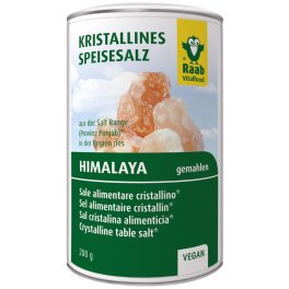 Raab Vitalfood Salz gemahlen aus der Region des Himalaya...