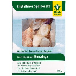 Raab Vitalfood Salzbrocken aus der Region des Himalaya 900g