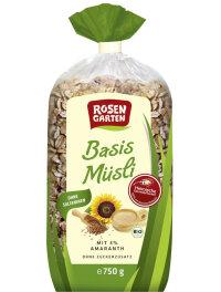 Rosengarten Basis Müsli Amaranth 750g