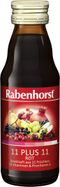 Rotbäckchen 11 plus 11 rot Mini 125ml