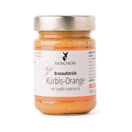 Sanchon Kürbis-Orange Brotaufstrich 190g Bio