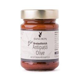 Sanchon Antipasti Olive Brotaufstrich 190g Bio