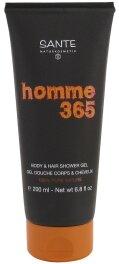 Sante Homme 365 Body 6 Hair Shower Gel 200ml