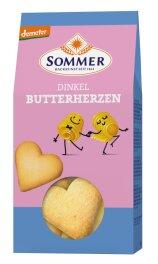 Sommer Demeter Dinkel Butter Herzen 150g Bio