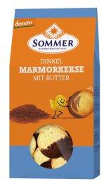 Sommer Dinkel Marmorkekse mit Butt demeter 150 g