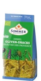 Sommer Dinkel Oliven-Snacks Kräuter der Provence...