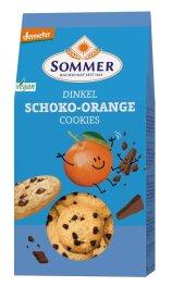 Sommer Demeter Dinkel Schoko-Orange Cookies 150g Bio